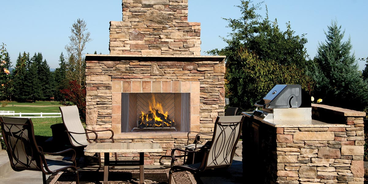 Erindale Outdoor Fireplaces - Astria